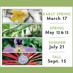 2018 Garden Open and Plant Sale dates